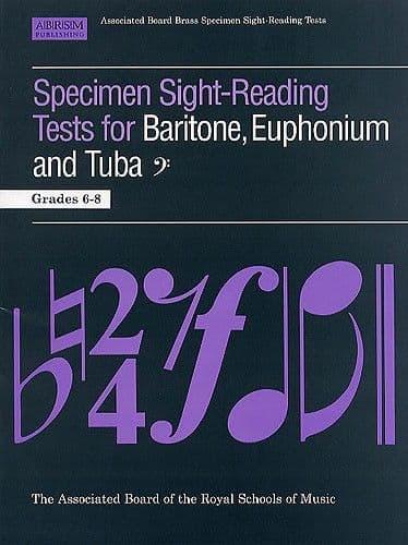 ABRSM Specimen Sight Reading Tuba